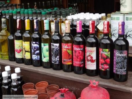 Homemade Wines in Sirince Turkey