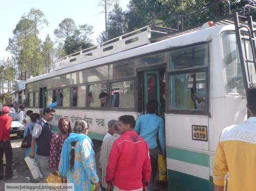 himachal state transport bus dalhousie