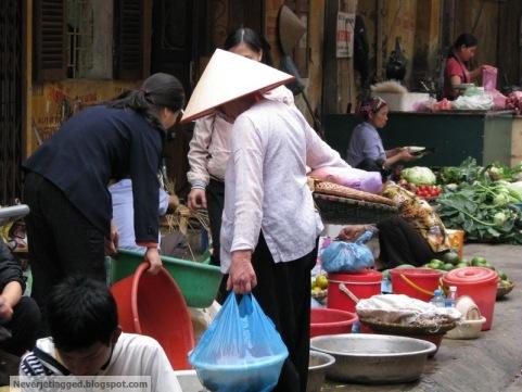 Local Market Hanoi