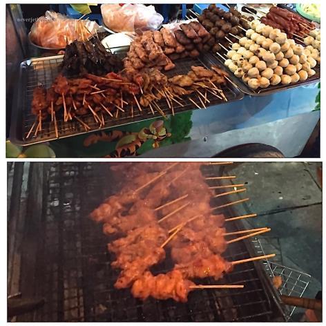 pork satay in bangkok