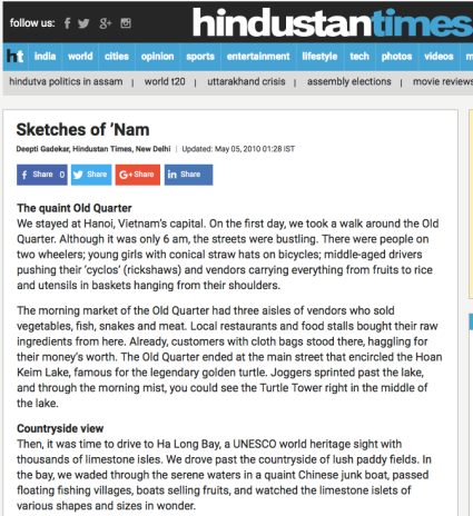 Hindustan Times Vietnam